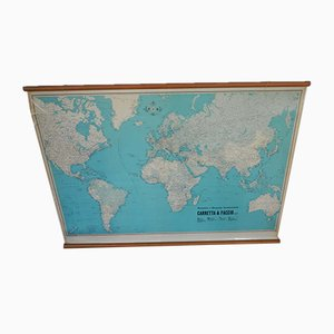 World Map from Rittmann Ltd., 1950s