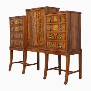 Small Walnut Sideboard, 1920s