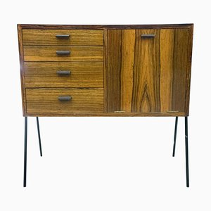 Small Swedish Rosewood Chest of Drawers, 1950s