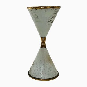 Lampada da tavolo Clessidra di Angelo Lelli per Arredoluce, anni '60