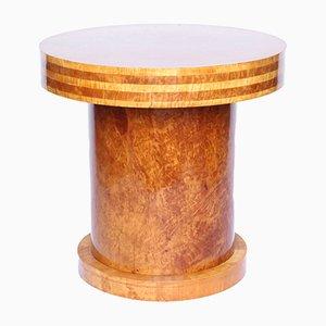 Vintage Tisch aus Nussholz von Harry & Lou Epstein