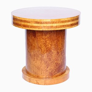 Vintage Walnut Side Table by Harry & Lou Epstein