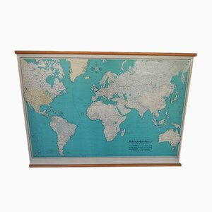 World Map from Rittmann Ltd., 1960s