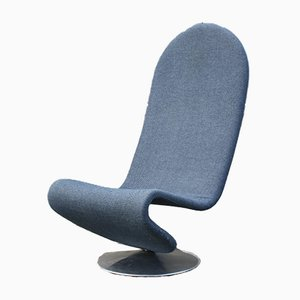 Vintage System 1-2-3- Lounge Chairs by Verner Panton for Fritz Hansen, Set of 2