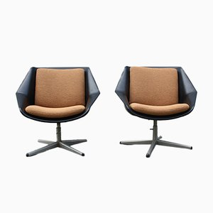 Vintage Model FM08 Armchairs by Cees Braakman for Pastoe, 1959, Set of 2