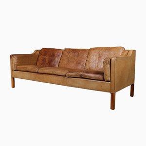 Modell 2213 Zweisitzer Sofa von Børge Mogensen für Fredericia, 1970er
