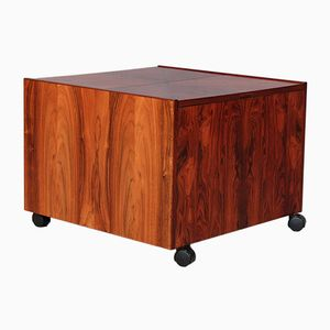 Cube Shaped Rosewood Bar Table from Bornholms Møbelfabrik, 1960s