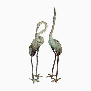 Sculture vintage bronzo, set di 2