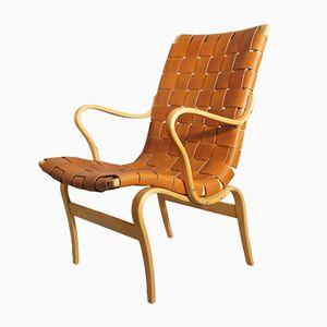 Vintage Eva Armlehnstuhl aus Buche von Bruno Mathsson für Karl Mathsson Int.