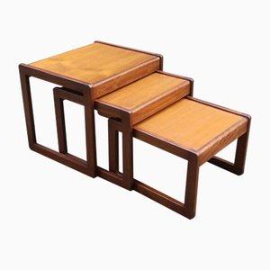 Vintage Teak Nesting Tables