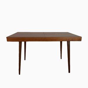 Ausziehbarer tschechischer Tisch aus Walnussholz von František Jirák für Tatra, 1960er
