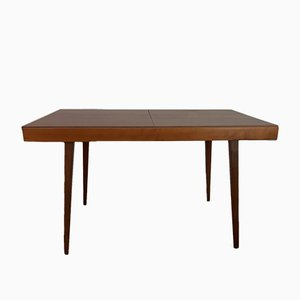 Czechslovakian Walnut Extendable Table by František Jirák for Tatra, 1960s
