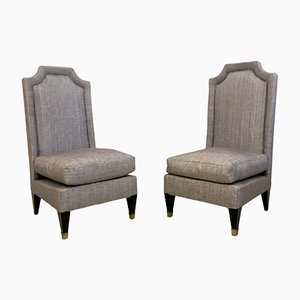 Hall Chairs, 1950s, Set of 2
