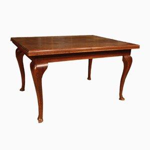 Mesa de comedor rústica vintage de roble