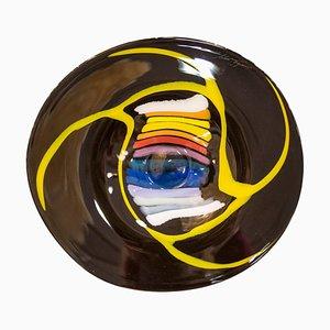 Schale aus geblasenem Glas von Mihai Topescu, 2006