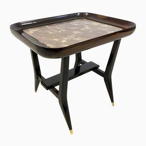 Tables en Palissandre et en Marbre par Giuseppe Scapinelli, 1960s, Set de 2