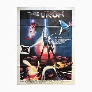 Póster de Tron francés, 1982