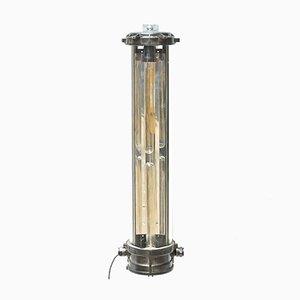 Lampada vintage in alluminio pressofuso con doppia lampadina
