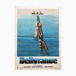 Póster francés de Delivrance, 1972