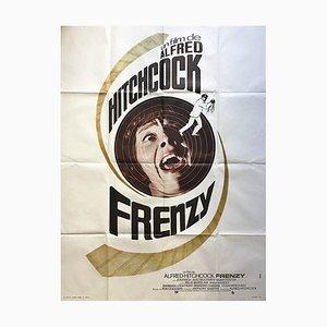 Póster francés de Frenzy, 1972