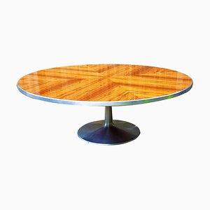Tavolo in alluminio e palissandro di Steen Ostergaard per CADO, anni '60