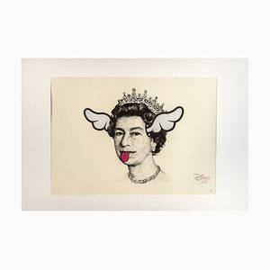 Dog Save The Queen Print by D*Face, 2006