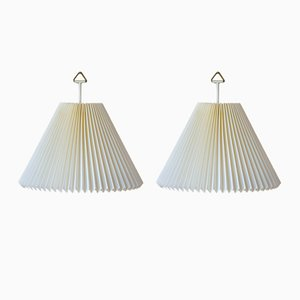 Vintage Danish Model 203 Wall Lamps by Henning Seiedelin for Le Klint, 1990s, Set of 2