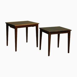 Vintage Nesting Tables, Set of 2