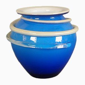 Vase aus Muranoglas von Gaetano Mazzuccato, 1960er