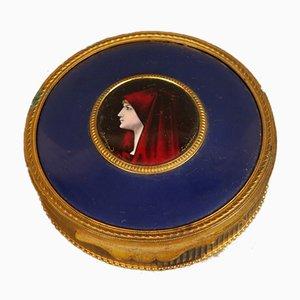 Antikes Porträtporzellan von Bardonnaud für Limoges