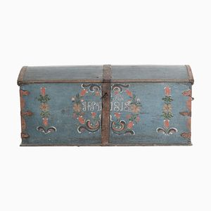 Swedish Wedding Chest, 1859