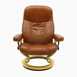 Norwegian Consul Armchair from Ekornes. 1980s
