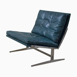 Turquoise BO561 Lounge Chair by Jorgen Kastholm & Preben Fabricius for Bo-Ex, 1970s