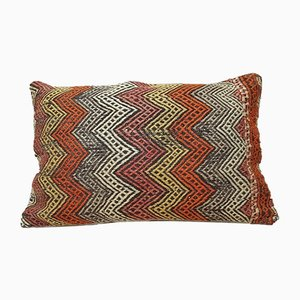Large Turkish Boho Kilim Pillow Cover from Vintage Pillow Store Contemporary
