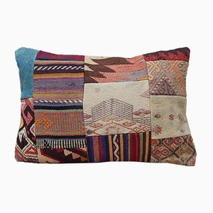 Large Patchwork Kilim Cushion Cover from Vintage Pillow Store Contemporary