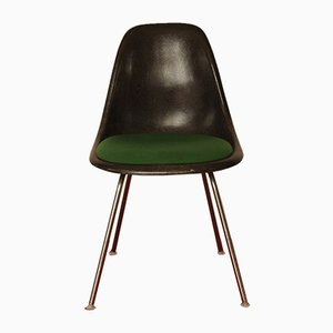 Vintage DSS Fibreglass & Chrome Chair by Charles & Ray Eames for Herman Miller