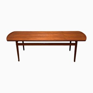 Rosewood Diplomat Coffee Table by Finn Juhl for Bovirke, 1960s