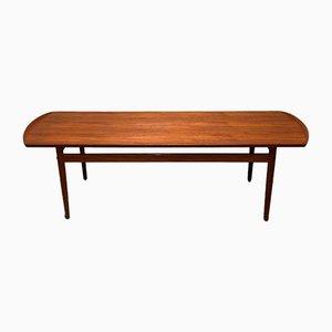 Table Basse Diplomat en Palissandre par Finn Juhl pour Bovirke, 1960s