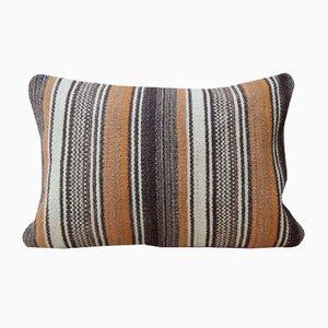 Housse de Coussin Kilim Organic, Naturel en Laine de Vintage Pillow Store Contemporary