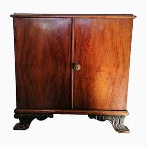 Chestnut Bedside Table by Federico Giner, 1920s
