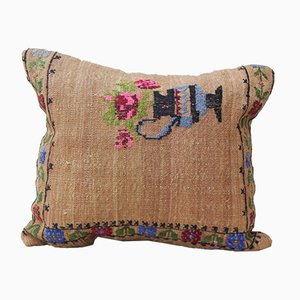Coussin Kilim Rose de Vintage Pillow Store Contemporary, France