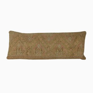 Long Handwoven Wool Kilim Pillow Cover from Vintage Pillow Store Contemporary