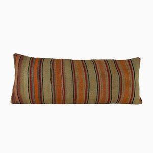 Housse de Coussin Kilim Tissée à la Main Bohémienne en Laine de Vintage Pillow Store Contemporary