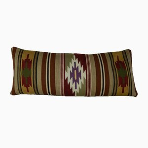 Bohemian Handmade Wool Kilim Pillow Cover from Vintage Pillow Store Contemporary