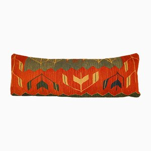 Bohemian Handwoven Wool Kilim Pillow Cover from Vintage Pillow Store Contemporary