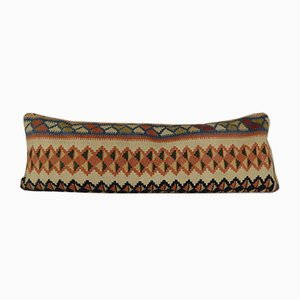 Long Wool Handwoven Kilim Pillow Cover from Vintage Pillow Store Contemporary