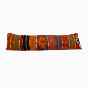Long Woven Kilim Bed Pillow Cover from Vintage Pillow Store Contemporary