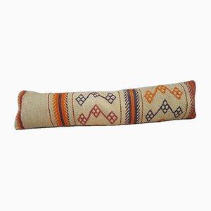 Longue Housse de Coussin Kilim en Laine de Vintage Pillow Store Contemporary