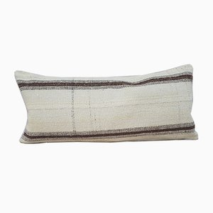 Bohemian Woven Wool Kilim Pillow Cover from Vintage Pillow Store Contemporary