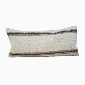 Housse de Coussin Kilim Bohemian en Laine Tressée de Vintage Pillow Store Contemporary